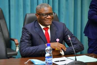 Dr Denis Mukwege_Photo présidence