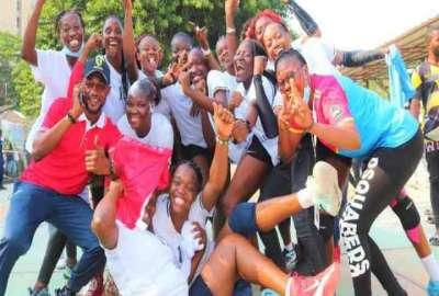 Volleuse de Loi  championne du Congo 2021