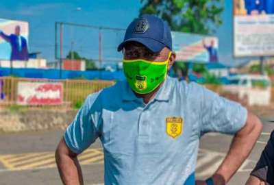 Coach Daouda Lupembe _ photo des droits tiers