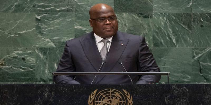 Felix Tshisekedi a l'ONU