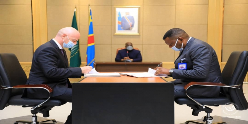 LA FIFA ET LA RDC ONT SIGNE UN MÉMORANDUM D'ENTENTE POUR LE PROJET PILOTE DU CHAMPIONNAT SCOLAIRE