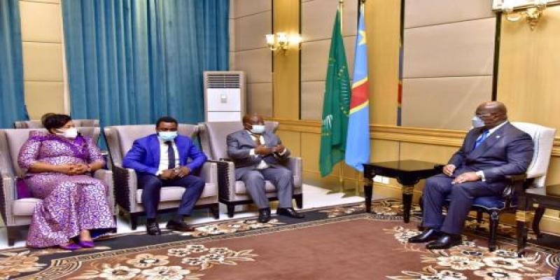 Bureau d'age du Senat de la RDC